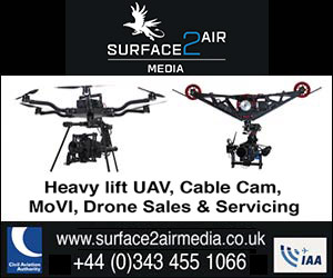 Surface to Air Aerial Filming