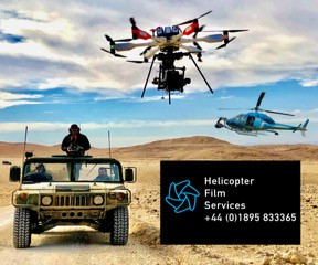 Aerial - Helicopter Film Services Ltd UK