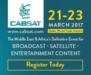 CABSAT 21 23 MARCH 2017