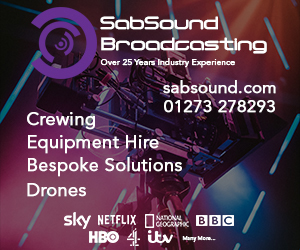 SabSound Ltd Production Crew Hire