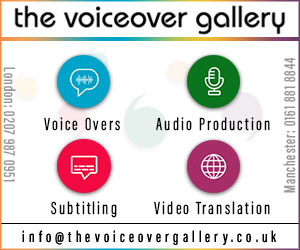 The Voiceover Gallery Ltd - London Voiceover Agency
