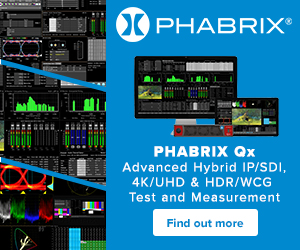 PHABRIX Ltd - Test & Measurement Equipment for Broadcast & Film Production