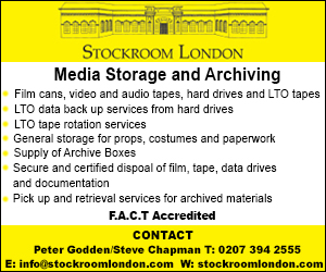 Stockroom London Film Archive & Storage