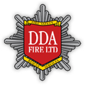 1st Call DDA Fire   (Fire safety for film) Logo