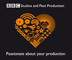 BBC Studios and Post Production Logo