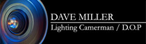 Dave Miller (Lighting Cameraman) Logo