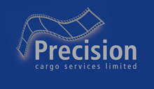 Precision Cargo-freight Courier company for film and television UK Logo