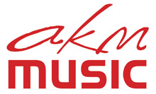 AKM Music Royalty Free Music UK Logo