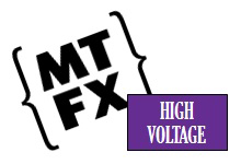 MTFX - High Voltage Special Effects Logo
