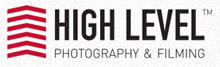 High Level TV- HD Aerial Filming Logo