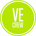 VE CREW- Camera Hire & Broadcast Equipment Hire London Logo