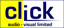 Click Audio Visual Ltd (DV Camcorder Hire) Logo