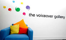 The Voiceover Gallery Ltd - London Voiceover Agency Logo