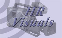 HR Visuals video production company Somerset Logo