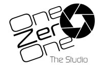 One Zero One The studio Logo