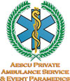 Aescu Private Ambulance Service & Event Paramedics Logo