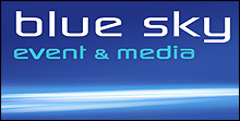 Blue Sky Event & Media Logo