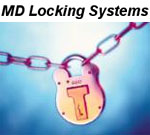 M D Locking Systems Logo