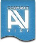 Corporate AV Hire Belfast Logo