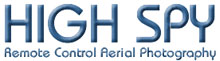 High Spy Remote Aerial cameras UK Logo