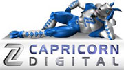Capricorn Digital (3D Animation UK) Logo