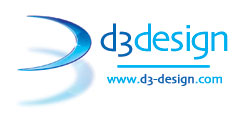 d3 design (Animation computer Generated) Logo