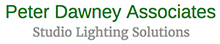 Peter Dawney Associates Studio & Lighting Solutions Logo