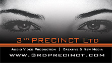 3rd PRECINCT Ltd  AUDIO | VIDEO | MUSIC PRODUCTION Logo