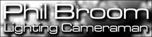 Phil Broom- Lighting Cameraman Logo