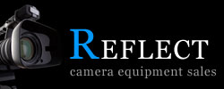Reflect camera equipment sales Logo