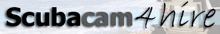 Scubacam4hire.com (underwater camera housing) Logo
