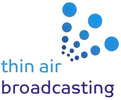 Thin Air Broadcasting - Satellite uplink Logo