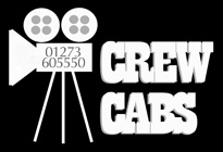 Crew Cabs  (Transport for film crews on location London) Logo