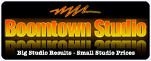 Boomtown Voice Over Studio Logo
