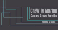 Crew in motion Camera Crew Valencia-Spain Logo