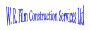 WR Film & TV Construction Services Logo