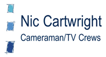 Nic Cartwright Freelance Cameraman Logo