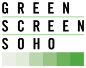 Green Screen Soho Logo