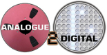 Analogue to Digital Music Expo Logo