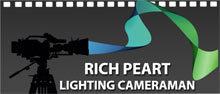 Rich Peart TV Lighting Cameraman Logo