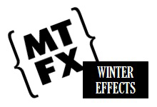 MTFX - Winter Special Effects Logo