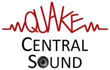 Quake Central Sound Services Logo