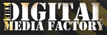 The Digital Media Factory DMF Logo