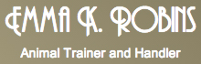 Emma K. Robins Animal Training London Logo