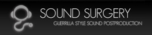 Sound Clinic - Audio Post Production Logo
