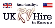 Uk rv hire -Winnebago American Motorhome  for hire Logo