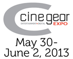 Cine Gear Expo 1st - 4th June  2017 Logo