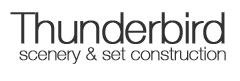 Thunderbird Scenery & Set Construction Logo