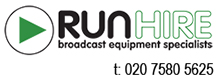 Run Hire Broadcast Hire London Logo