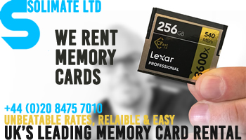 Solidmate Ltd Memory Card Hire London